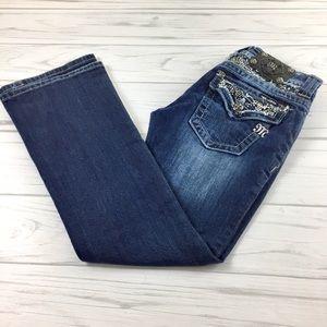 """Miss Me Boot Cut Jeans 30"""" Inseam - EUC, Sz.26/2"""